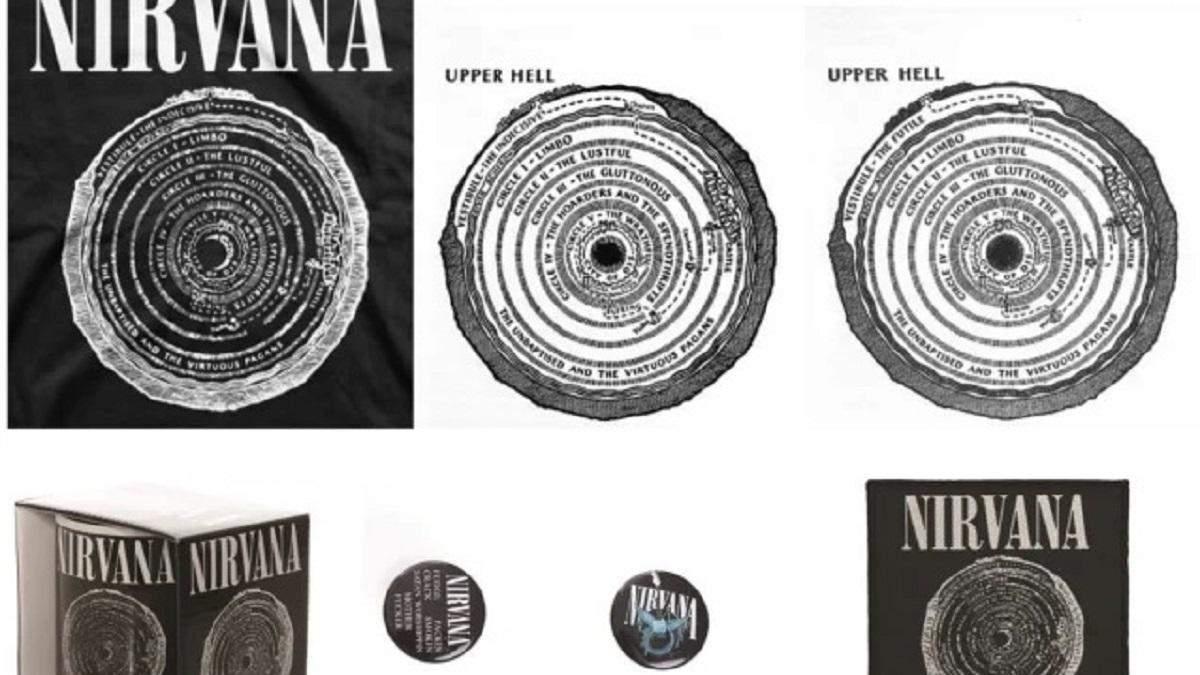 """Гурт Nirvana звинуватили у крадіжці ілюстрацій з перекладу """"Inferno"""" Данте"""
