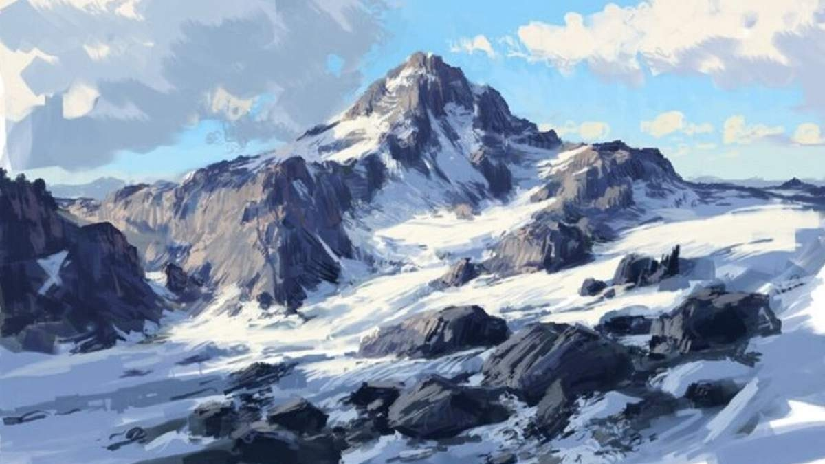 Картина, нарисованная в Paint