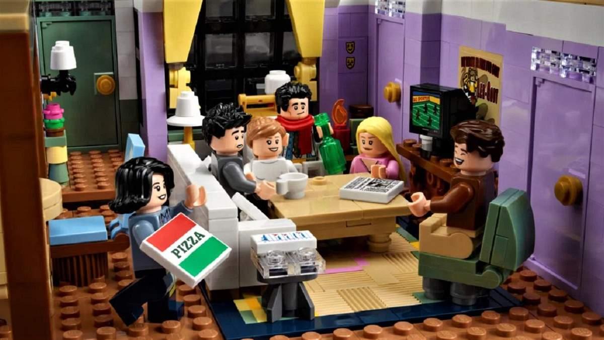 Конструктор Lego по сериалу Друзья