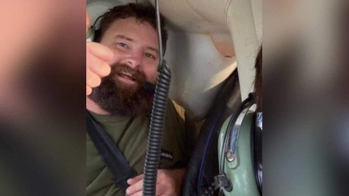 Джеймс Брайант прилетел сдаваться полиции на вертолете