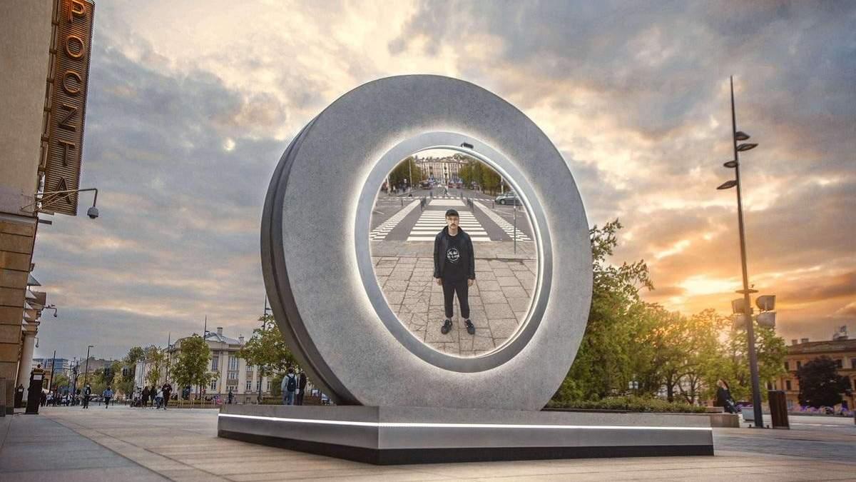 Фантастика стає реальністю: у Польщі та Литві побудували віртуальний портал між столицями країн