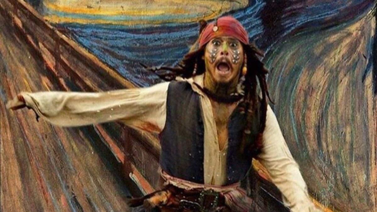 Персонажі попкультури на картинах відомих митців