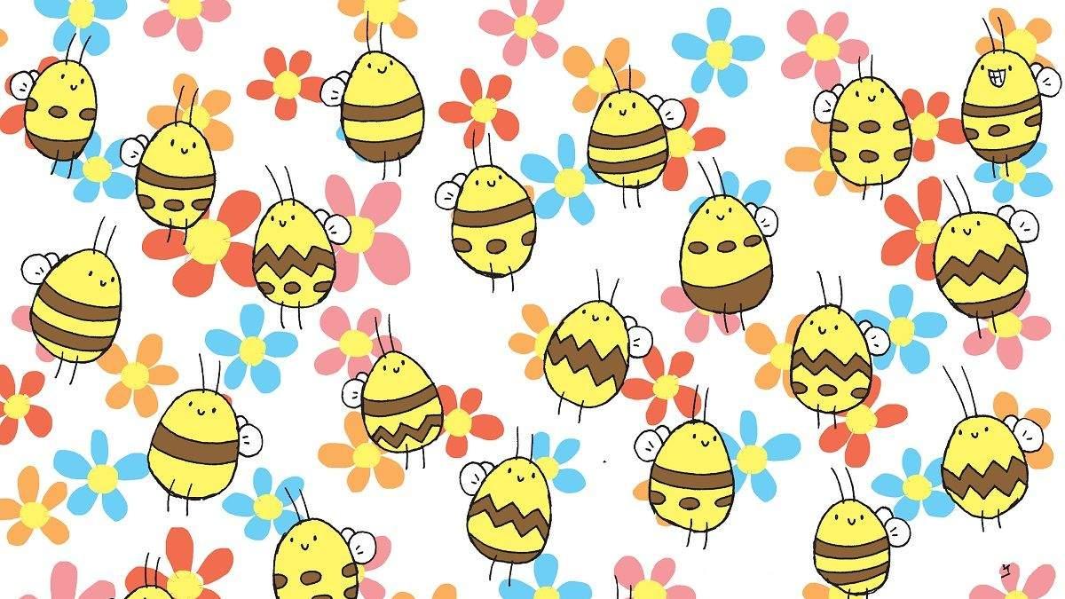 Головоломка тижня: завдання – знайти бджолу з унікальним візерунком