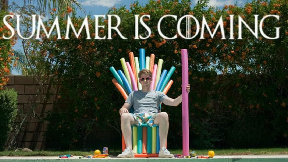 Мемы про лето