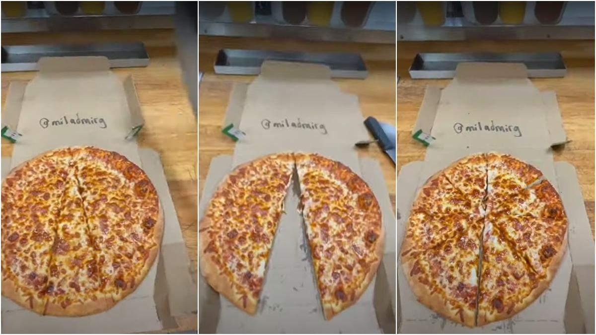 Как украсть кусок пиццы