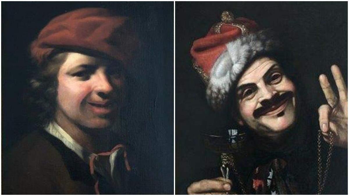 Картини 17-століття знайшли у смітнику