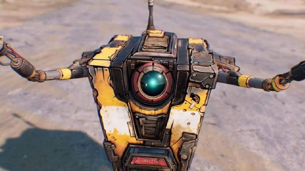 Автори фільму по грі Borderlands показали, як виглядає робот Клептреп