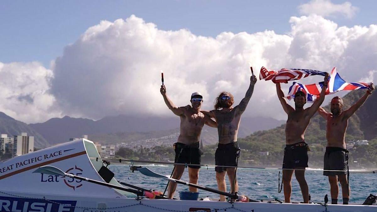 Гребцы проплыли более 4 тысяч километров за месяц