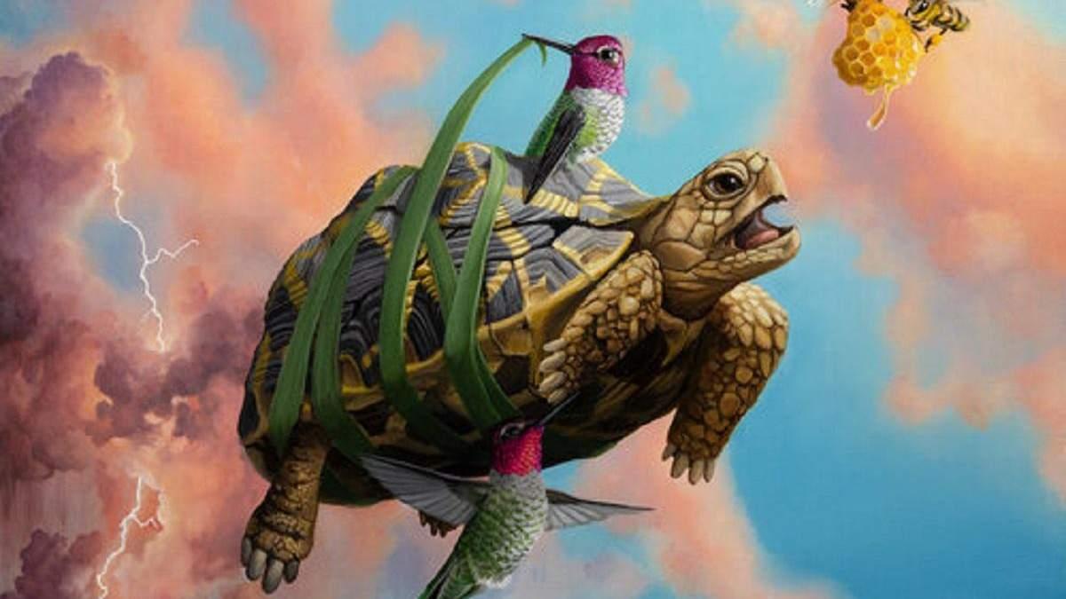 Художник рисует фантастических причудливых существ: невероятные картины Джона Чина