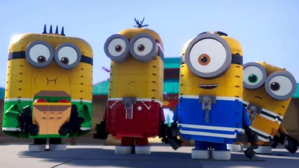 Посіпаки повернулися: студія Illumination випустила мультфільм з LEGO-анімацією – веселе відео