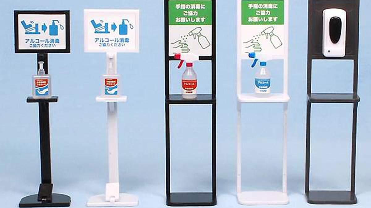 В Японії випустили колекцію іграшкових дезінфекторів для рук