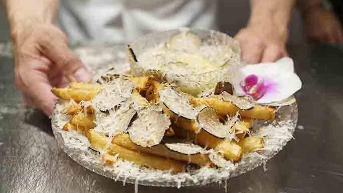 Самая дорогая в мире картошка фри