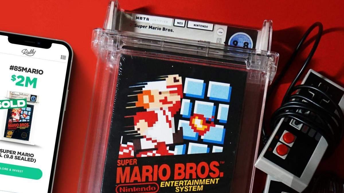 Super Mario Bros. – найдорожча гра в історії
