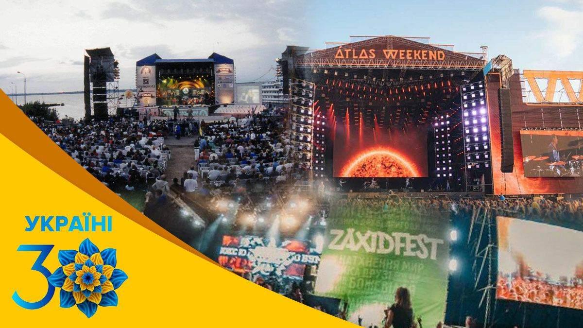 Лучшие украинские фестивали