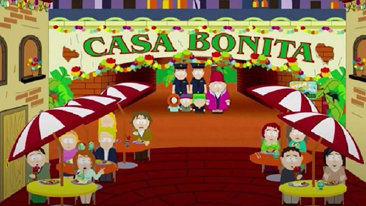"""Автори мультфільму """"Південний парк"""" викупили улюблений ресторан Еріка Картмана Casa Bonita"""