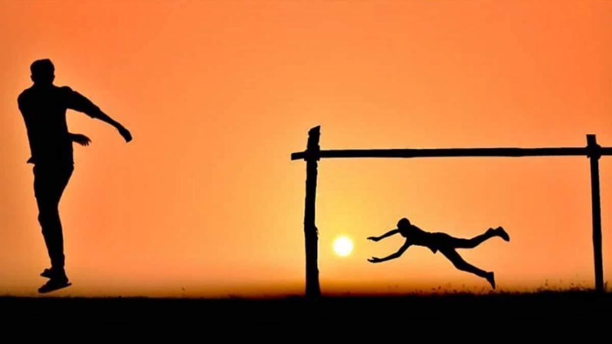 Цікаві ідеї для фото на заході сонця