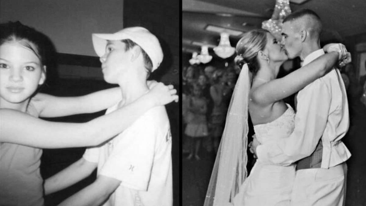 Все, как и тогда: 15 людей, которые воссоздали свои старые фото через десятки лет - Развлечения