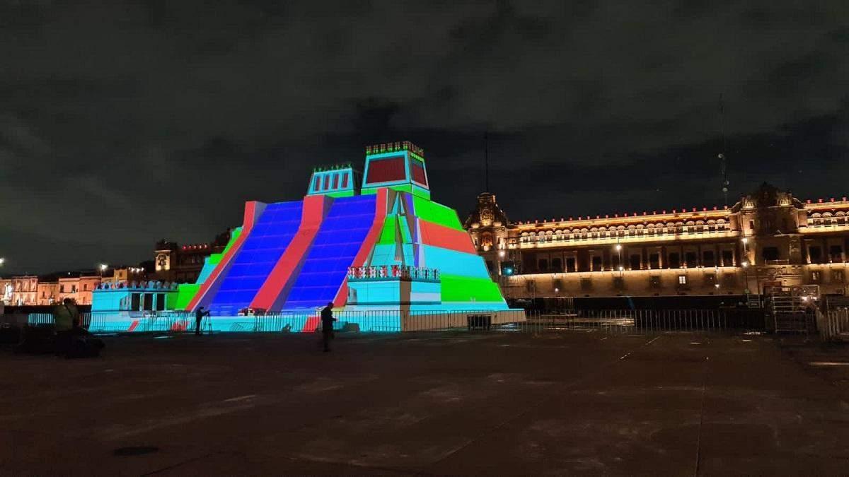 В Мексике построили копию пирамиды ацтеков рядом с настоящей: сеть взорвалась мемами