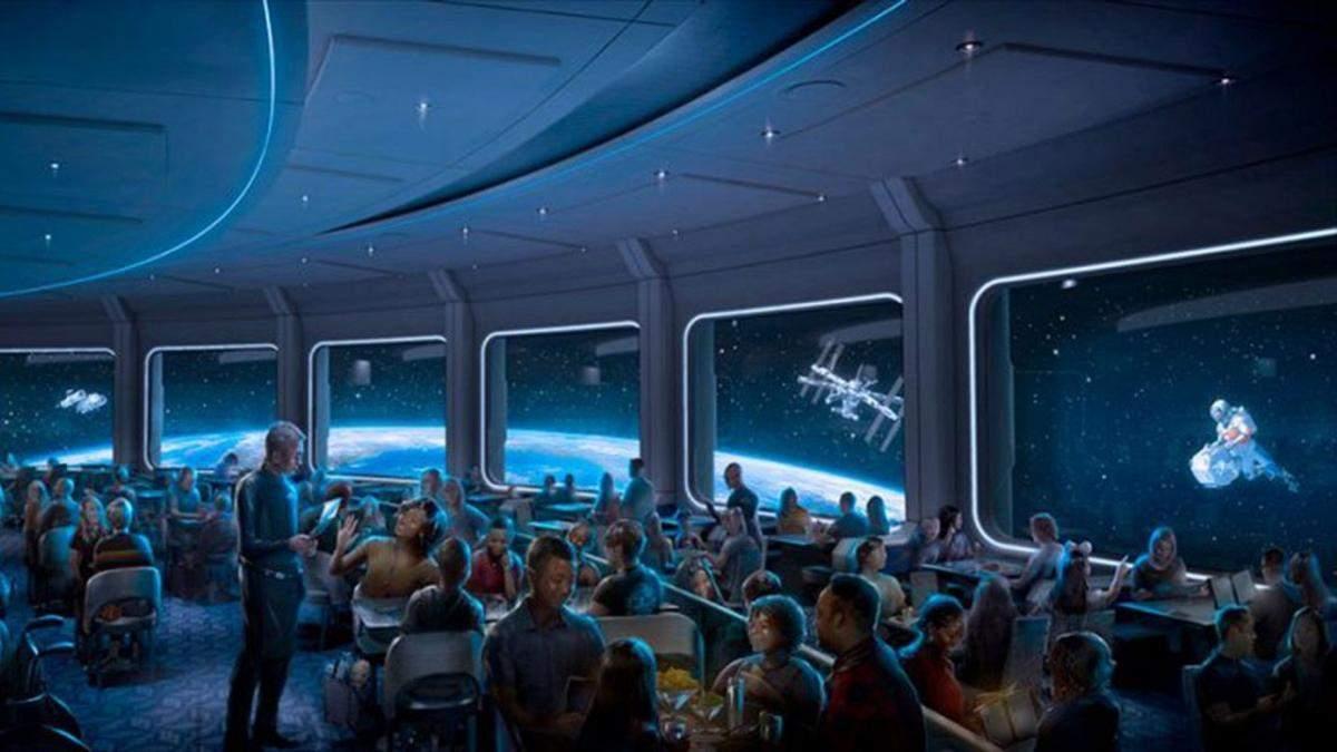 Обід на орбіті: Disney відкриває космічний ресторан Space 220 – захопливий відеотур - Розваги
