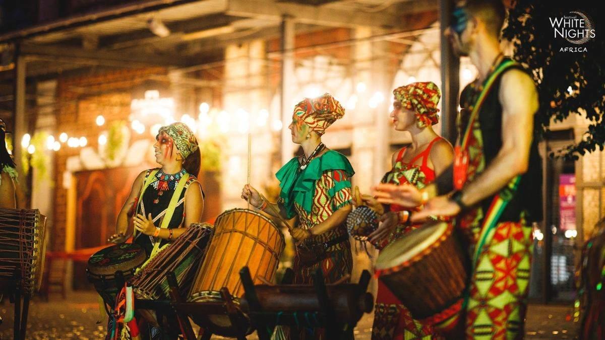 Африка посреди Киева: как прошел White Nights Festival. Africa - Развлечения