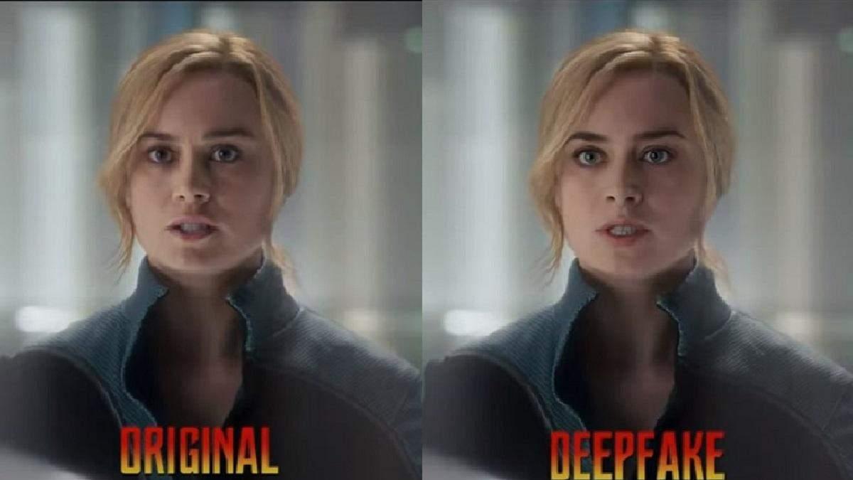 Блогер показав, як би виглядала Емілі Блант у ролі Капітана Марвел замість Брі Ларсон