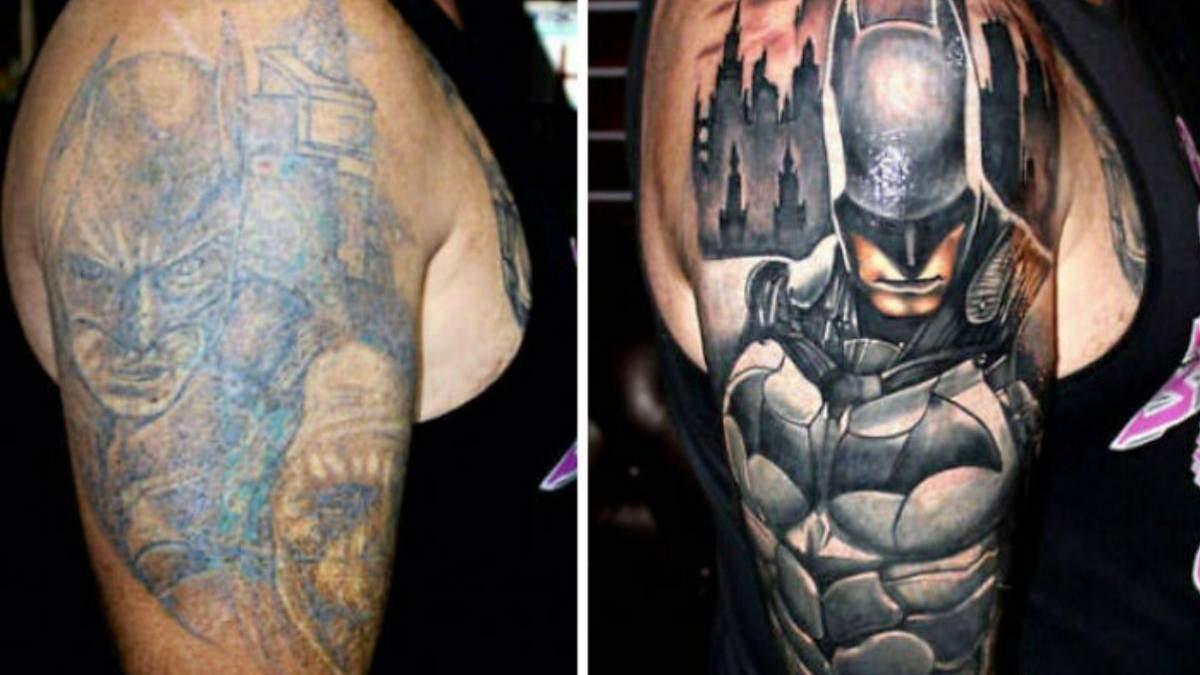 До і після: 15 разів, коли майстри перекрили жахливі татуювання і отримали неймовірний результат - Розваги