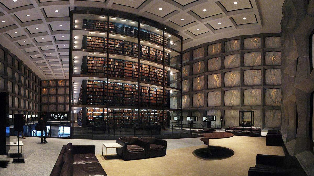 Йельский университет оцифровал и опубликовал сотни редких книг из коллекции Бейнеке