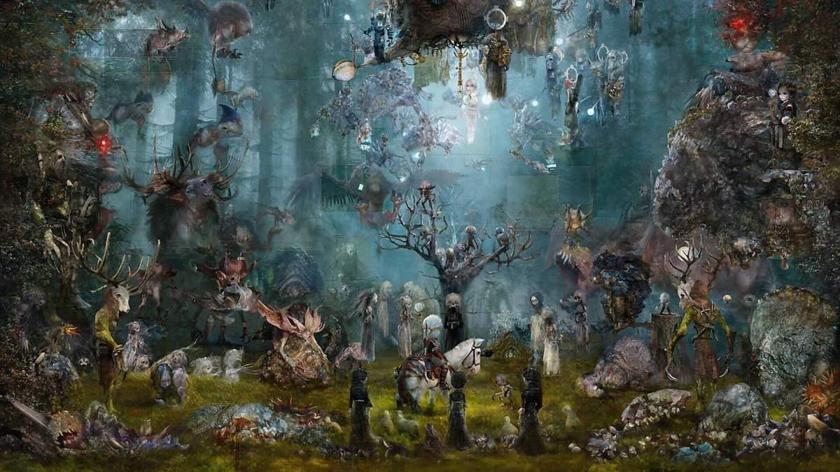 Художник нарисовал впечатляющую картину по мотивам игры о Ведьмаке: ее оценили в 20 000 долларов - Игры - Развлечения