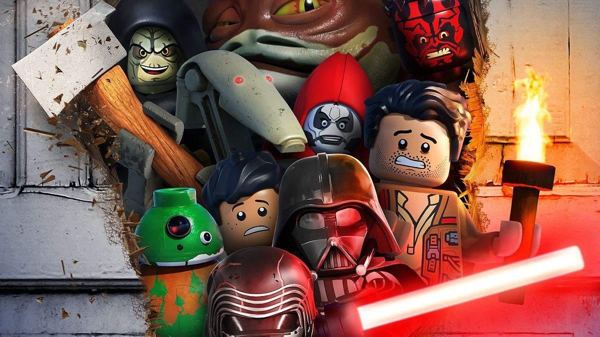 В сети показали постер хэллоуинского спецэпизода LEGO Star Wars Terrifying Tales