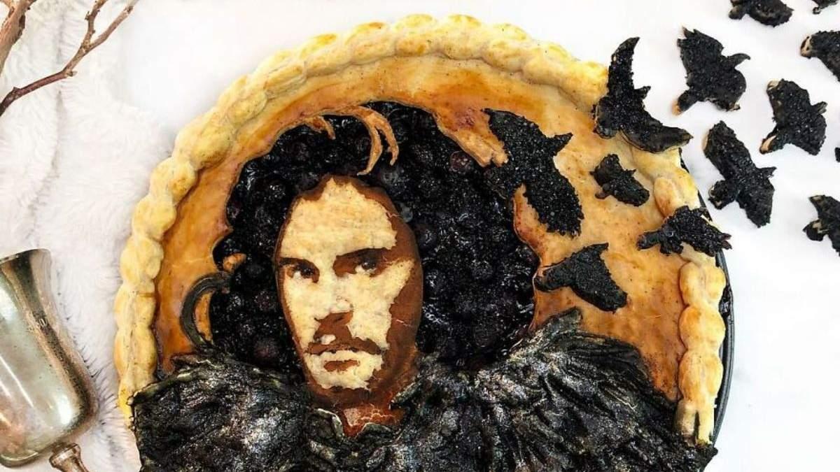 Жалко есть: женщина печет невероятные пироги с портретами популярных героев – лучшие работы - Развлечения