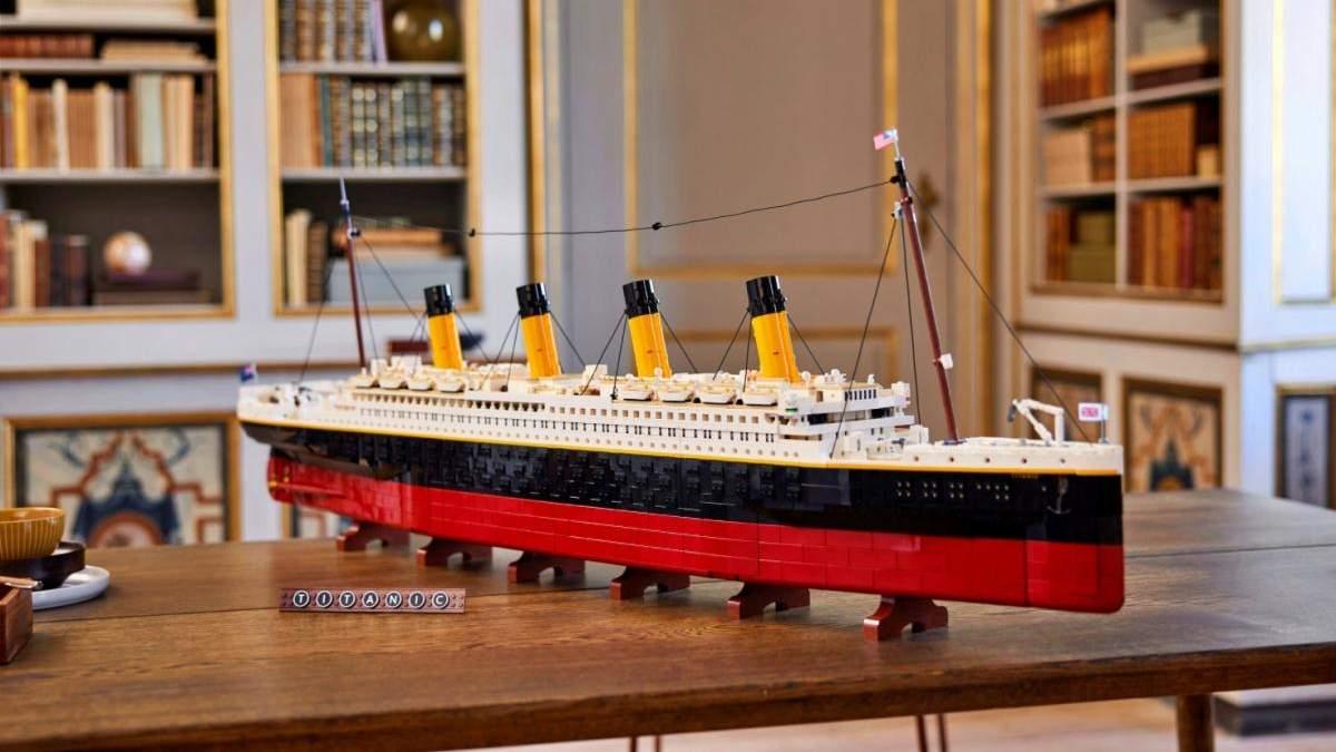 """Понад метр у довжину: Lego випустить конструктор """"Титанік"""" на 9 тисяч деталей - Розваги"""