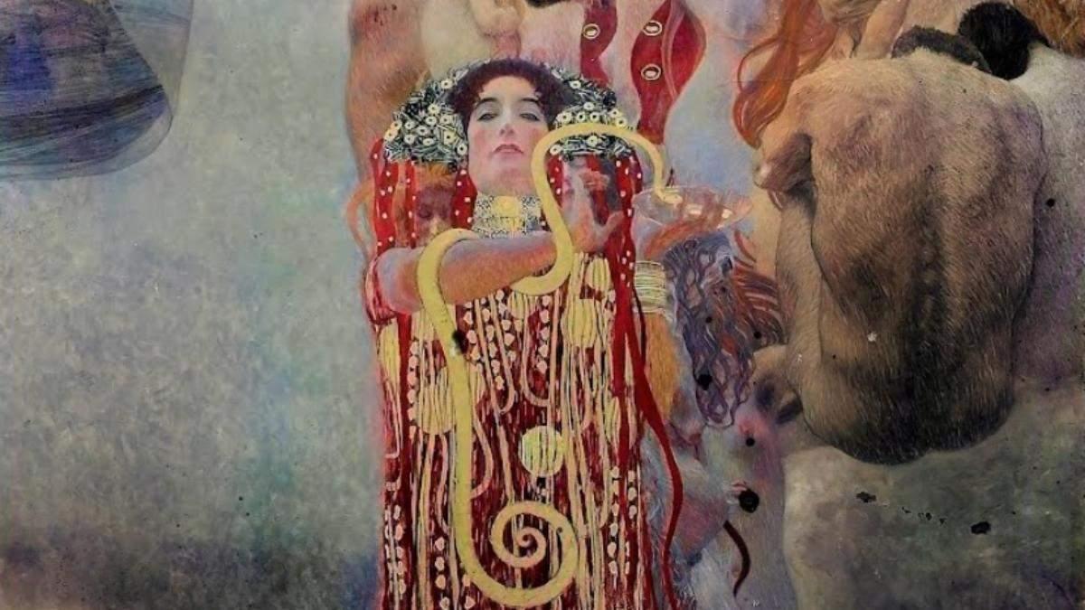 С помощью нейроcетей: Google воссоздал три утраченные картины Густава Климта - Развлечения