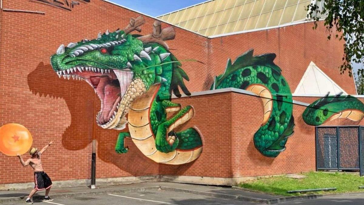 Уличный художник украшает неприметные локации реалистичными граффити: интересные фото до и после - Развлечения