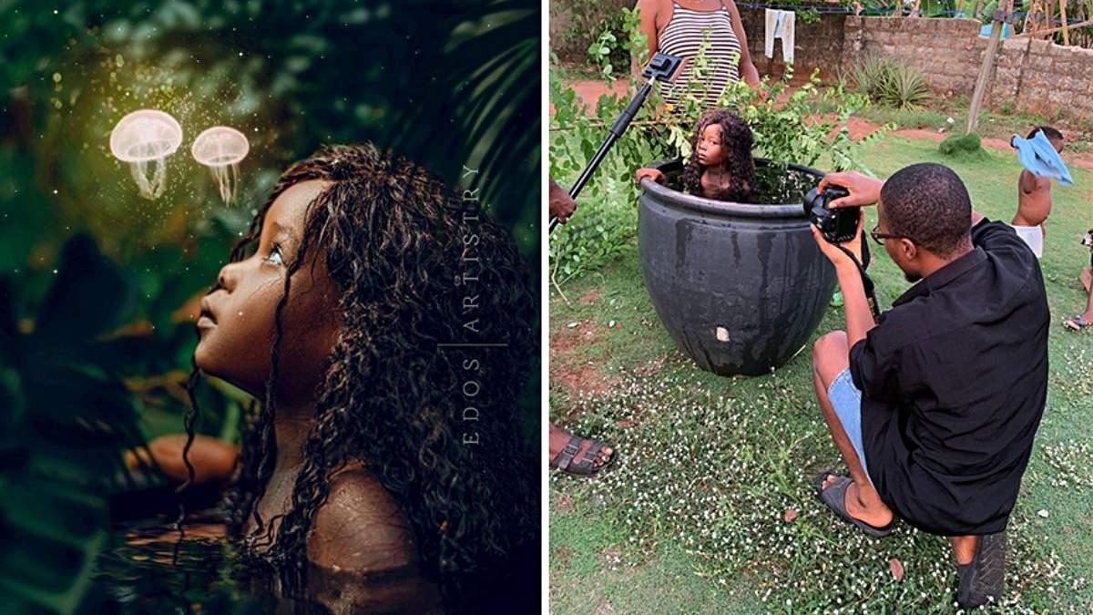 Нигерийский фотограф показал закулисье инстаграмных фото: как все происходит на самом деле - Развлечения