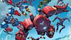 Капітан Америка, Тор і Майлз Моралес: Lego випустить набори Месників з мехами – фото