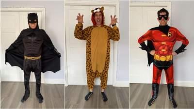 Бетмен, Росомаха, Скубі-Ду: британець одягається у кумедні костюми для робочих дзвінків у Zoom