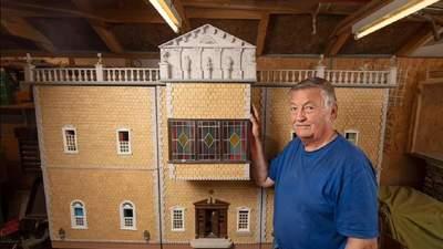 Кристаллы Swarovski и мрамор: мужчина 26 лет строил кукольный домик – результат потрясает