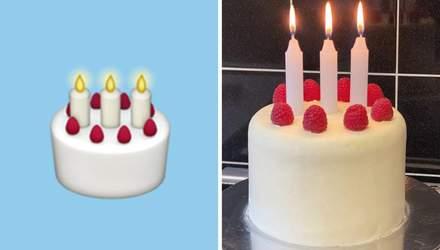 Британец готовит сьедобные эмодзи: это точные копии самых популярных иконок – фото, видео