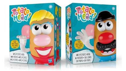 Містер Картопляна Голова більше не містер: культова іграшка від Hasbro стає гендерно нейтральною