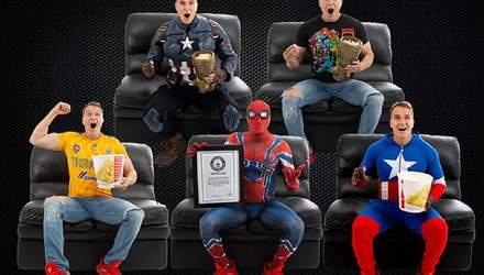 """Американец посмотрел """"Мстителей: финал"""" 191 раз и попал в Книгу рекордов Гиннесса"""