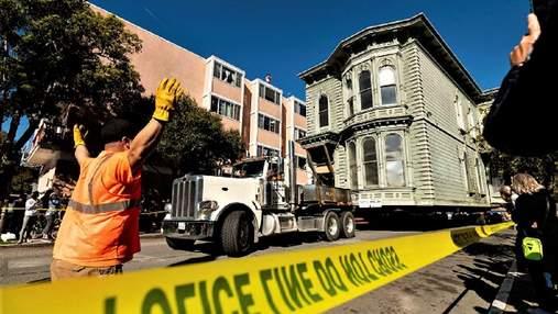 Американец перевез свой дом на 7 кварталов: это стоило безумных денег