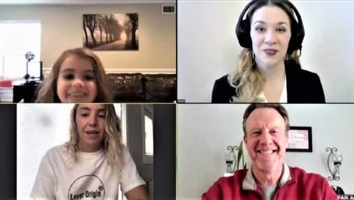 Дівчинка замінила тата на зустрічі у Zoom: вона розкрила його секрети колегам – кумедне відео