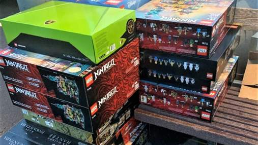 У США чоловік вкрав з магазину конструктори Lego на 7,5 тисяч доларів