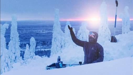 Дуже холодний сет: діджей влаштував вечірку на засніжених пагорбах Лапландії – захопливе відео