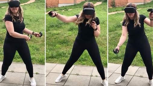Замість спортзалу: жінка схудла на 18 кілограмів завдяки відеоіграм – фото до і після