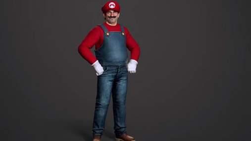 Super Mario: художник показал, как водопроводчик из известной игры выглядел бы в реальной жизни