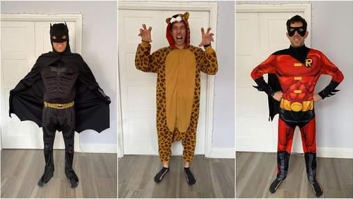Бэтмен, Росомаха, Скуби-Ду: британец одевается в забавные костюмы для рабочих звонков в Zoom