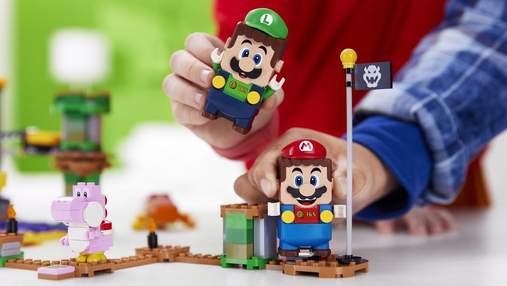 LEGO представила новую командную игру из наборов с Марио и Луиджи: яркое видео