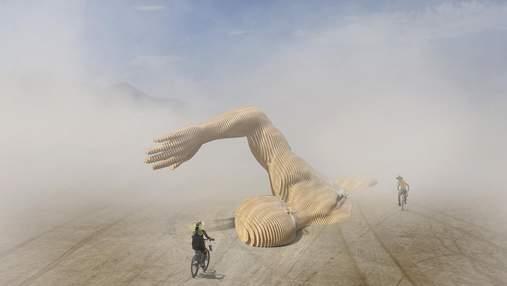 В Киеве установят инсталляцию с фестиваля Burning Man: она будет доступна только неделю