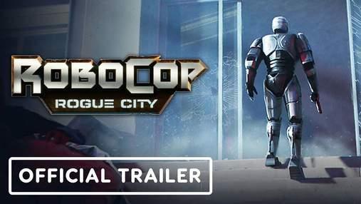 Від авторів Terminator: Resistance: у мережі показали трейлер нової гри про Робокопа